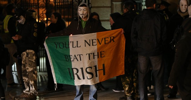 IN IMAGES: A brief history of the Irish protest
