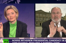 David Norris takes on Russia Today presenter over gay rights