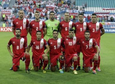 Gibraltar are 50/1 to beat Ireland tomorrow night.