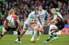 Flanker Lydiate to leave Racing Metro and head home to Wales