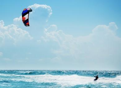 Kite surfer (file photo)