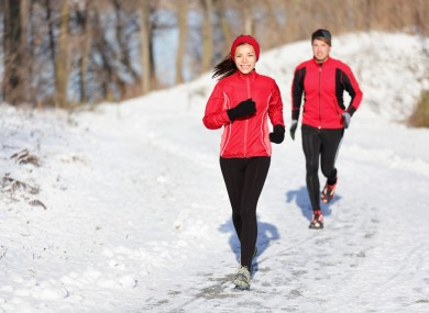 Running in winter requires extra motivation.