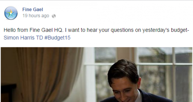 Fine Gael: We don't buy Facebook 'likes'