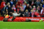 Balotelli missed a good chance in the closing stages.