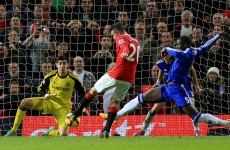Last gasp van Persie strike salvages a point for United