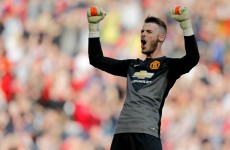 Here's the fantastic De Gea save that denied Everton a last-minute point today