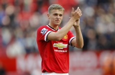 Van Gaal insisted nine was in my shirt number, says United youngster James Wilson