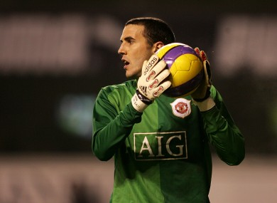 Sheasy: Loves a stint between the sticks.