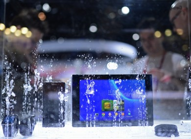 Some manufacturers like Sony have developed waterproof or water-resistant devices, but don't take it for granted.