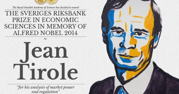 Check out the CV of the guy who just won the Nobel Prize for Economics