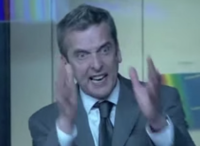 The Thick of It's Malcolm Tucker is considered a master of political spin