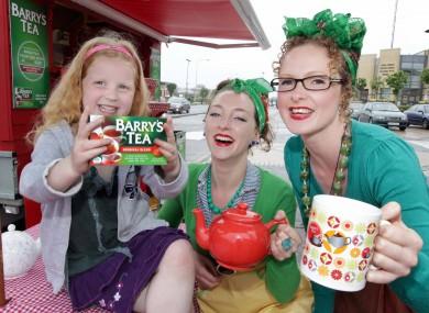 Yes, Barry's Tea is still Irish