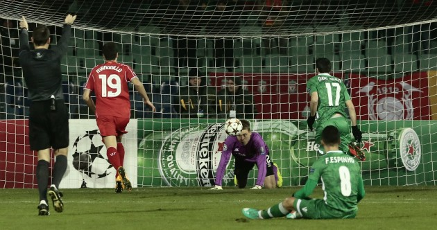 As it happened: Ludogorets v Liverpool, UEFA Champions League