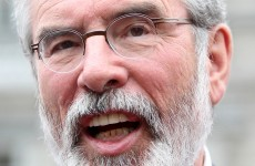 Gerry Adams's gunpoint comments 'a barely concealed threat to the modern media'