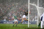 An iconic shot from the 2014 All-Ireland semi-final win against Limerick, taken by INPHO photographer Cathal Noonan.