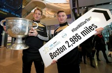 The 31 inter-county stars headed off today on the Allstar football trip to Boston