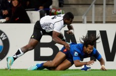 Dream debut for Teddy Thomas as France make light work of Fiji