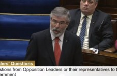 Gerry Adams is not happy Bob Geldof is in the 1916 centenary video…
