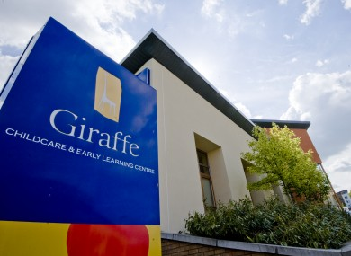 Giraffe Childcare in Stepaside.
