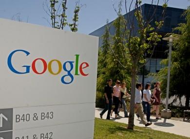 Google Inc. headquarters in California