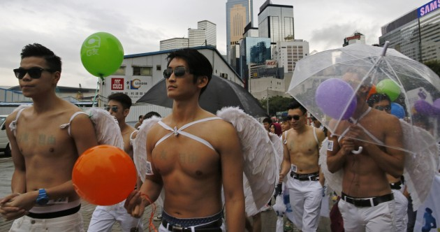 'It's just two people in love' – Thousands march in Hong Kong gay pride parade