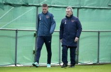 James McCarthy and Glenn Whelan both OUT of Scotland game