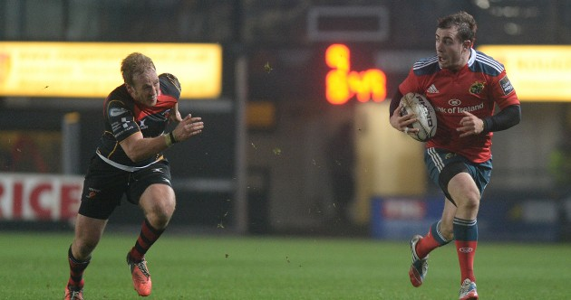 Two tries from Duncan Casey help Munster to bonus point victory over Dragons