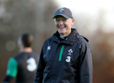 Joe Schmidt has used a different strategy with Ireland than he implemented with Leinster.