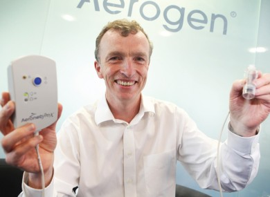 Aerogen CEO John Power