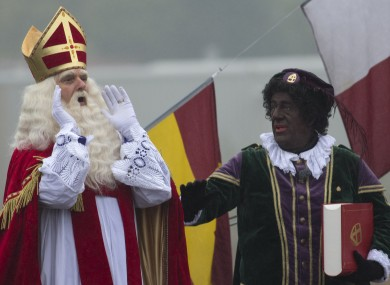 Saint Nick and Black Pete.