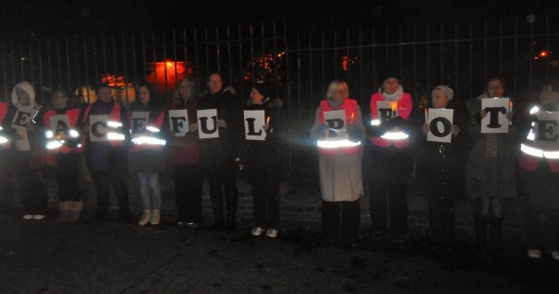 Why last night's Garda Station vigil was so startling … and why we can expect more like it
