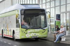 A bus that's powered by poo has gone on the road in the UK