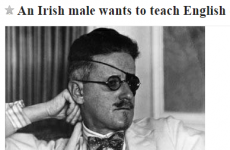 That 'Irish alcoholism' job rejection? There's now a Craigslist response from Seoul…