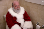 Prepare for your Christmas to be ruined by this ad about Santa having a poo