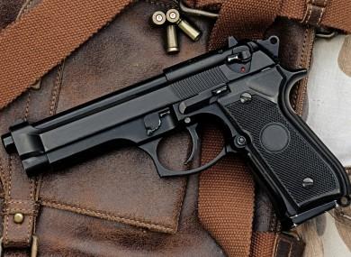 File image of a handgun
