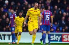 LIVE: Crystal Palace v Liverpool, Premier League