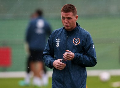 James McCarthy was ruled out of Ireland's clashes with Scotland and USA.