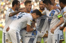 Robbie Keane and the LA Galaxy take a narrow lead in MLS conference finals