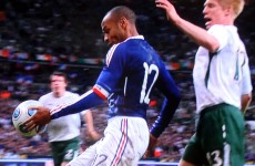 Open Thread: Where were you when Thierry Henry handled the ball in Paris five years ago?