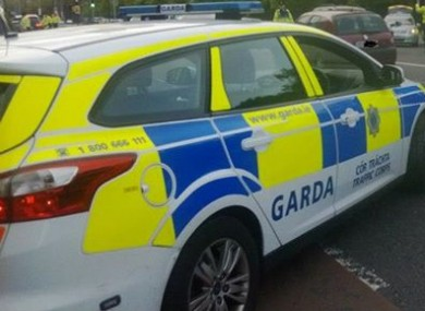 (File photo) Garda car