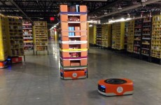 Amazon has an army of robots helping it send gifts on their way