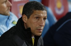 Eight months after he was fired by Norwich, Chris Hughton is back in management