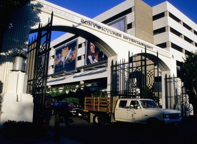 The entrance to Sony Picture Entertainment, which was the subject of a recent hack.