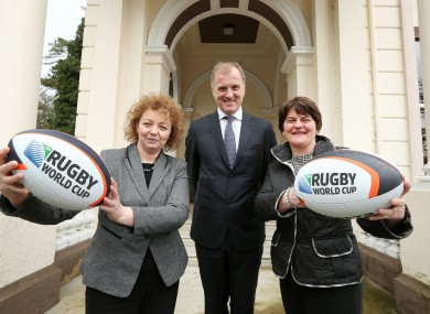MacNeill has a big role to play in bringing the World Cup to Ireland.