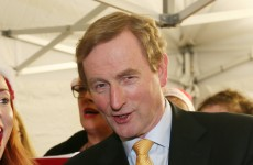 Here's a video of Enda Kenny reading The Night Before Christmas