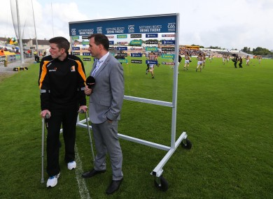 Michael Rice before Kilkenny's championship opener with Offaly.