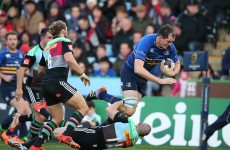 As it happened: Harlequins v Leinster, Champions Cup