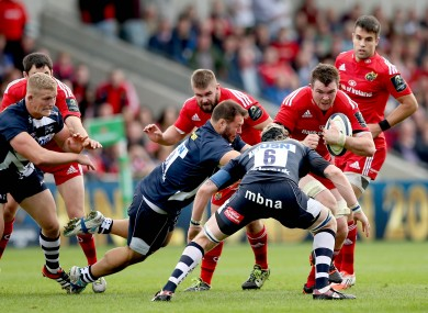 The Munster pack has been dominant in the Champions Cup so far.
