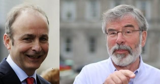 Sinn Féin and Fianna Fáil are both ruling out coalition with each other