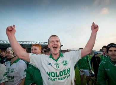 Henry Shefflin after Ballyhale's county final win.